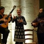 Requena, La Tremendita and Tabassian performing
