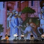 Musicians performing Marco Polo