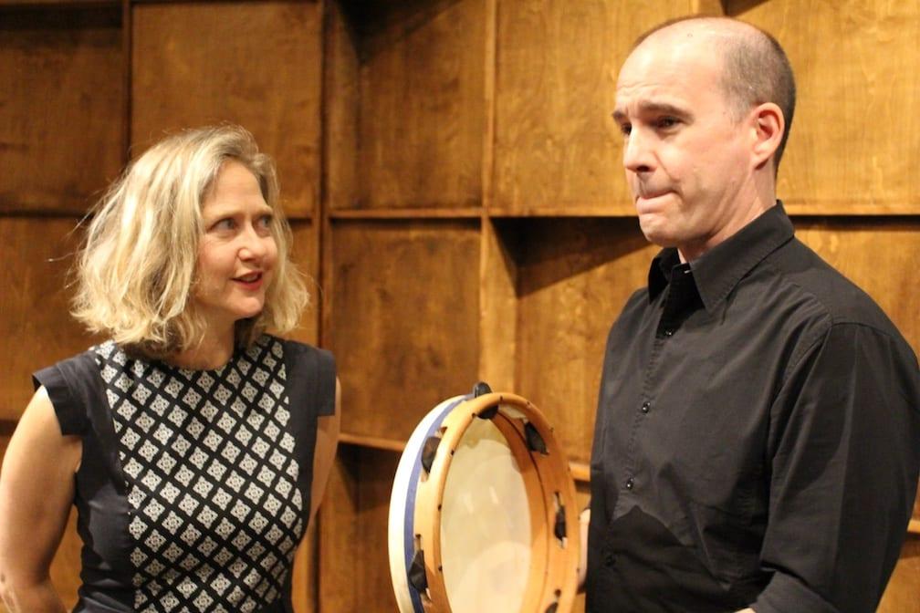 Suzie LeBlanc et Patrick Graham